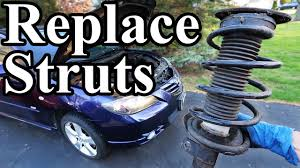 How to Replace Struts in your Car or Truck - YouTube