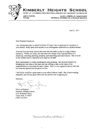 Recommendation Letter For Kg Teacher How To Write Cv Personal