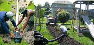 underground gutter drainage. Tips Underground Gutter Drainage