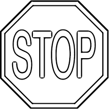 Small Picture Stop Sign coloring page from Traffic signs category Select from