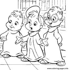Small Picture Alvin And The Chipmunks Coloring Pages Pdf Coloring Coloring Pages