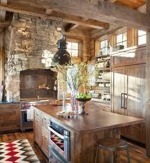 cabin kitchen design. 15 Warm \u0026 Cozy Rustic Kitchen Designs For Your Cabin Design Architecture Art