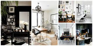 white or black furniture. What Makes A Perfect Bloggers\u0027 Office Decor? White Or Black Furniture N