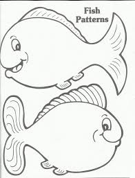 Printable Fish Template Fish Template Go F I S H