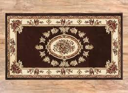 french area rugs country blue past medallion brown rug
