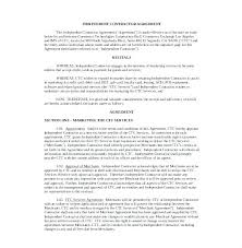 Independent Contractor Agreement Template Mesmerizing Free Independent Contractor Agreement Template California 44