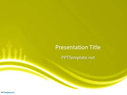 Powerpoint Backgrounds Yellow Free Yellow Ppt Template