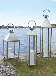 Stainless Steel Lanterns | Metal Lanterns | Stainless Lanterns. Outdoor Candle  LanternsLarge ...