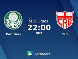Palmeiras CRB resultados ao vivo - SofaScore