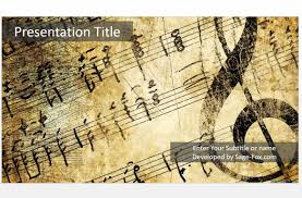ppt music templates best templates back to post ppt music templates