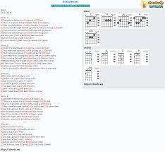 Chord: Grand Hotel - Regina Spektor - tab, song lyric, sheet, guitar,  ukulele