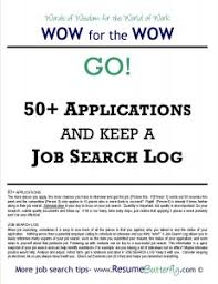 WOW for the Wow - Job Search Skills - Resume Butterfly - Go - Job Search