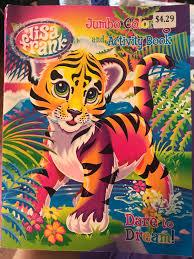 Lisa Frank Coloring Book Found At Cvs Nostalgia