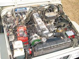 Under the hood, the stock Toyota 2F engine resides. The engine is ...