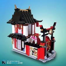 Ninjago Garden Teahouse   Tea house, Lego ninjago city, Lego