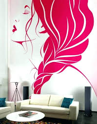 fancy cool wall painting ideas unique bedroom