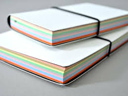 Notebook With Multi Colored Pages Raovat24hinfo
