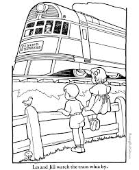 Small Picture Train Coloring Pages Free Printable Pagesjpg Coloring Page mosatt