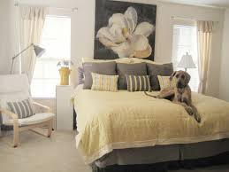 Modern Bedroom Comforters Yellow And Gray Bedding That Will Make Your Bedroom Pop