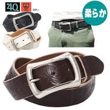 belts men s leather belt japan leather tochigi leather 40 mm width 4 mm thick barrel