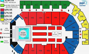 Ppl Seating Chart With Rows 23 Comprehensive Ga Dome Seating Chart Rows