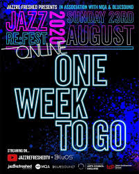 "Yvette Griffith on Twitter: ""ONE WEEK TO GO! #JAZZREFEST2020ONLINE Make  sure you are subscribed to our @youtube channel jazzrefreshedtv. This is  only possible thanks to @mqa_sound & @bluesoundhifi + support from  @aceagrams"