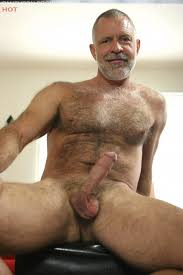 Naked old hairy cocks