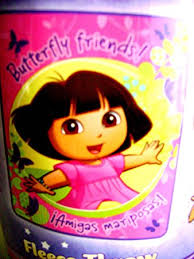 Dora Fleece Throw Blanket