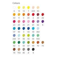 Staedtler Colored Pencils 48 Color Chart Staedtler Triangular Colored Pencils Set Of 48