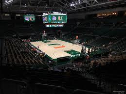 Watsco Center Seating Chart Basketball Watsco Section 119 Rateyourseats Com