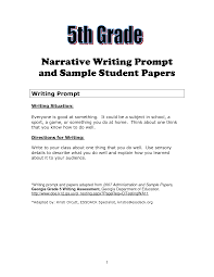th grade essay examples madrat co 5th grade essay examples