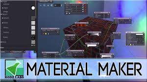 Open Source Substance Designer Material Maker Godot Powered Procedural Texture Creator Free Open Source