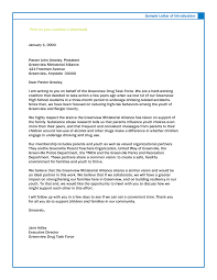 business letters sle introduction letter to potential partner