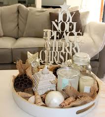 Centerpiece For Coffee Table Brilliant Home Living Room Apartment Christmas Decor Expressing