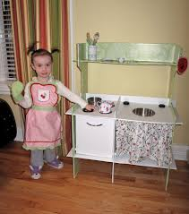Homemade Play Kitchen Play Kitchen After And Before Fitch Family Fun