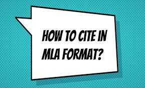 Mla Format For Intext Citations How To Cite In Mla Format In Text Citations And Works Cited