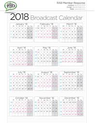 Fiscal Calendars 2016 As Free Printable Pdf Templates Beauteous 4 5 ...