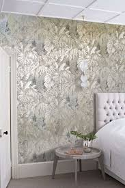 Metallic wallpaper is a huge trend this year. Find out how to use it the