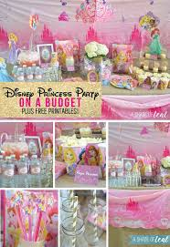 Princess Ball Decorations Cool A Disney Princess Party On A Budget Plus Free Printables A Shade