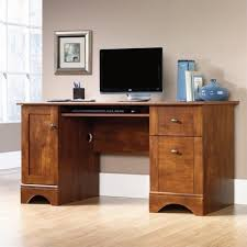 ebay home office. Computer Desk Home Office Furniture Workstation Table In Brushed Maple Ebay T