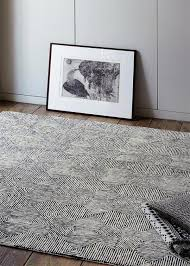asiatic camden black white rug