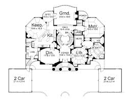 villa capri 6018 3 bedrooms and 3 5 baths the house designers Italian House Designs Plans 1st floor plan italian house designs plans