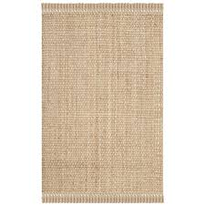 safavieh natural fiber 11 x 15 hand woven jute rug in natural nf467a 1115