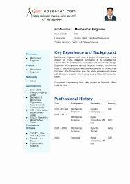 Mechanical Engineering Resume Templates Elegant Engineering Resume