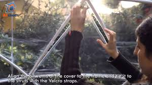 garden igloo. Garden Igloo Assembly - How To Fit The Air Vents H