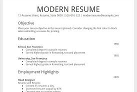 resume templates in google docs how to create professional looking google resume template