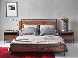 chicago bedroom furniture. Chicago Queen Bed With Drawers - Picket\u0026Rail Singapore\u0027s Premium Furniture Retailer Bedroom
