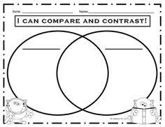 fall compare and contrast venn diagram ☆ educational  graphic organizers