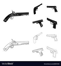 Design Pistol Design Revolver And Pistol Sign