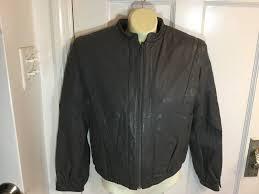 details about women s vintage bermans gray leather motorcycle biker jacket 80s